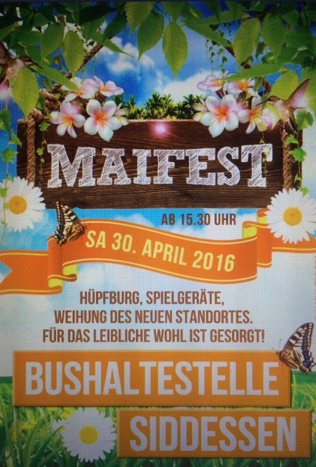 Plakat Mai 2016